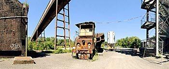 Alte Lok Zeche Zollverein Essen
