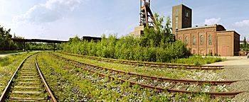 Am Bahnhof Zeche Zollverein Essen