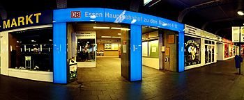 Am Hauptbahnhof Essen