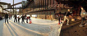 Eisbahn Zeche Zollverein Essen