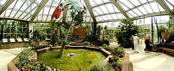 Foyer Tropicarium PalmengartenFrankfurt