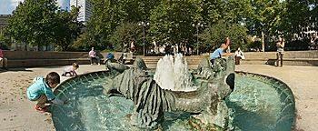 Marshall-Brunnen Frankfurt