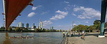 Museumsufer am Holbeinsteg Frankfurt