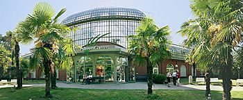 Palmengarten Eingang  Frankfurt