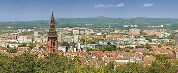 Blick auf Freiburg  Freiburg