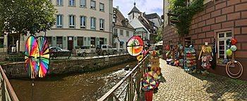Insel Gerberau  Freiburg