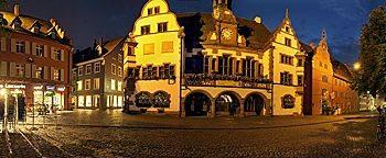 Neues und Altes Rathaus  Freiburg
