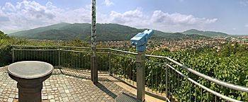 Schlossberg-Aussicht Freiburg