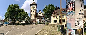 Schwabentorplatz Freiburg