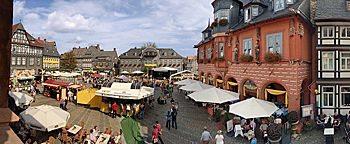 Altstadtfest am Marktplatz Goslar