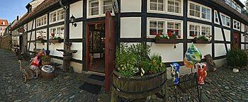 Glasstudio im Kunsthandwerkerhof Goslar