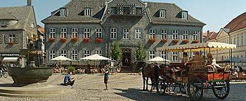 Kutschfahrt am Marktplatz Goslar