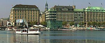 Alster-Panorama  Hamburg