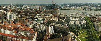 Blick über Hamburg  Hamburg