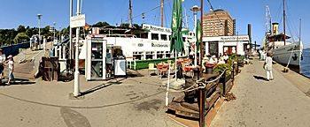 Fähranleger Museumshafen Hamburg
