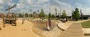 Grasbrookpark HafenCity Hamburg