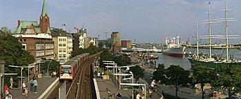 S-Bahnhof Landungsbrücken  Hamburg