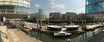 Sandtorkai HafenCity Hamburg