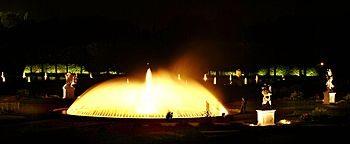 Nacht-Panorama Großer Garten Hannover