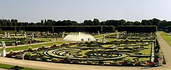 Panoramablick Großer Garten Hannover