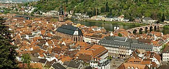 Blick auf Heidelberg Heidelberg