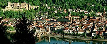Heidelberg Blick Heidelberg