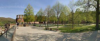 Terrassengarten Heidelberg
