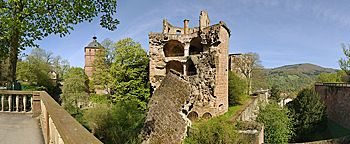Turmruine  Heidelberg