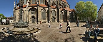 Andreasplatz  Hildesheim