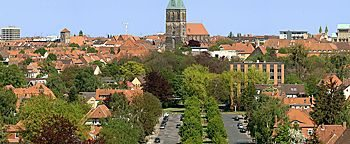 Blick auf Hildesheim Hildesheim