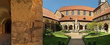 Kreuzgang Mauritiuskirche Hildesheim