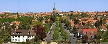 Panoramablick  Hildesheim