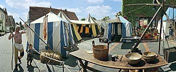 Zeltlager  Horstmar
