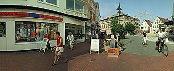 Fußgängerzone Ibbenbüren