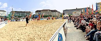 Beachvolleyball  Kassel