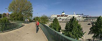 Brücke am Ostseekai Kiel