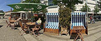 Strandkorb-Café Kiel