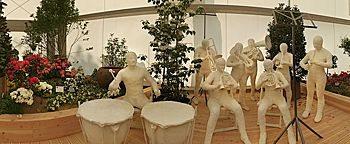 Musikerskulpturen BUGA 2011 Koblenz