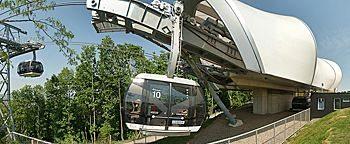Seilbahn-Bergstation Koblenz