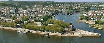 Stadtansicht Koblenz  Koblenz