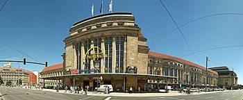 Hauptbahnhof Leipzig am Willy-Brandt-Platz
