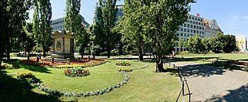 Parkanlage Willy-Brandt-Platz  Leipzig