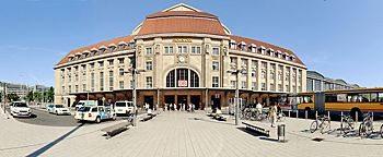 Seiteneingang Hauptbahnhof  Leipzig