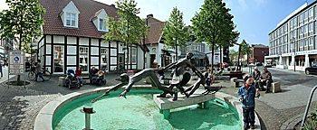 Rathausplatz Lengerich