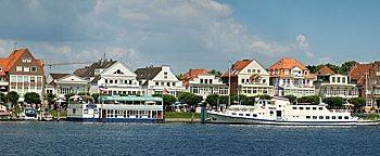 Blick auf Travemünde Lübeck