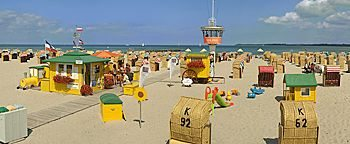 Strand  Lübeck Travemünde