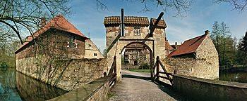Eingangstor Burg Vischering Lüdinghausen