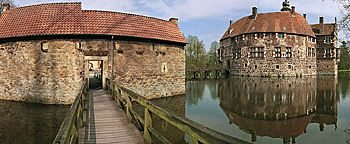Holzsteg Burg Vischering Lüdinghausen