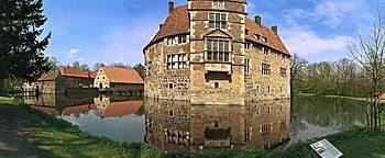 Südseite Burg Vischering Lüdinghausen