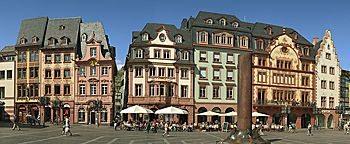 Altstadt-Fassaden  Mainz